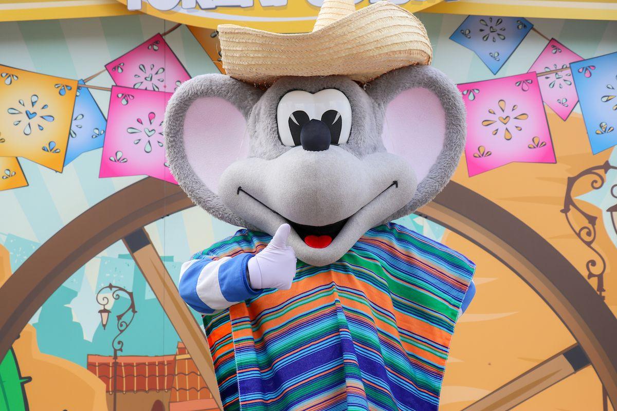 Mevrouw Suikerspins Mexicaanse Dansshow