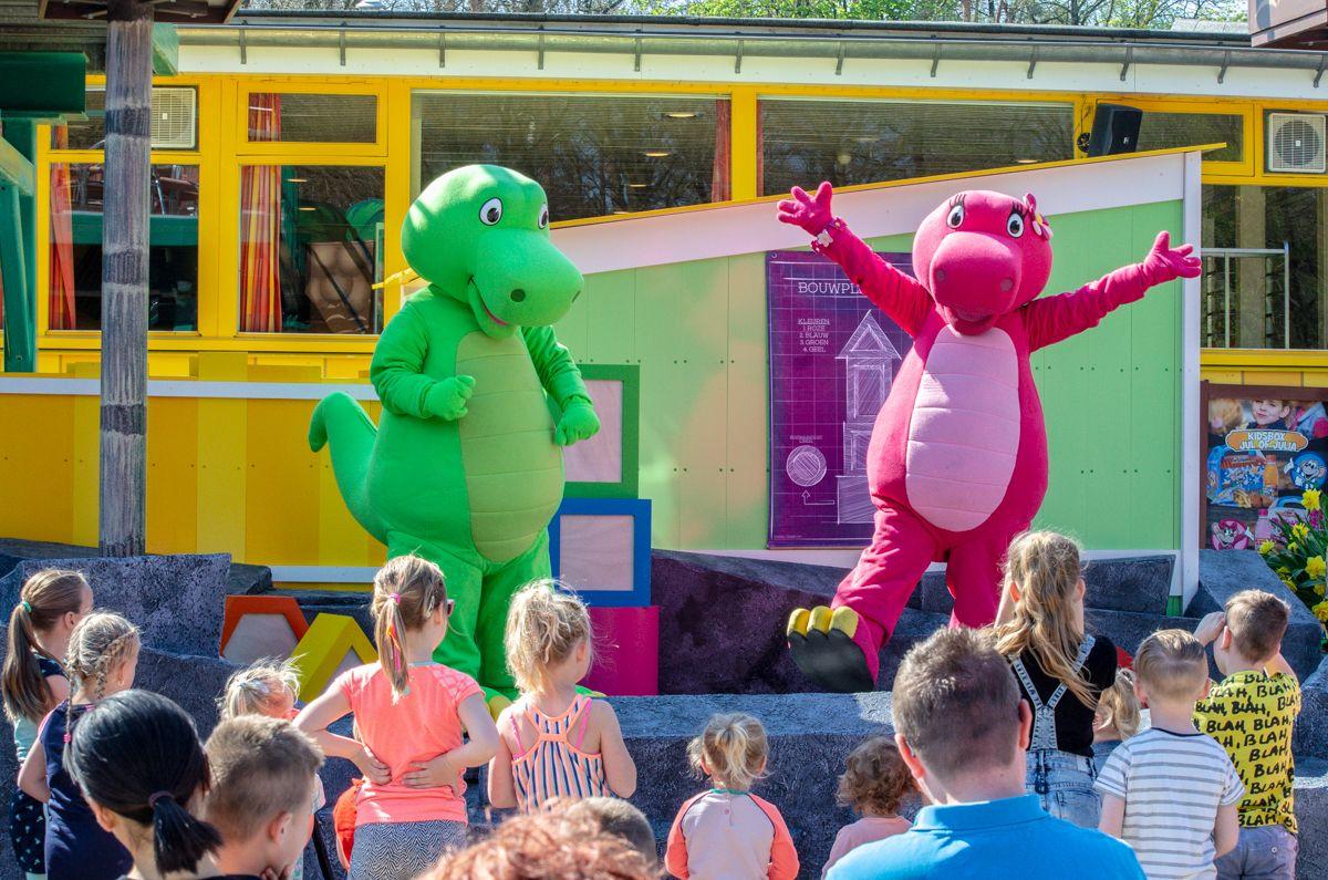 Dino & Dina Bouwspel Kinderpretpark Julianatoren 1