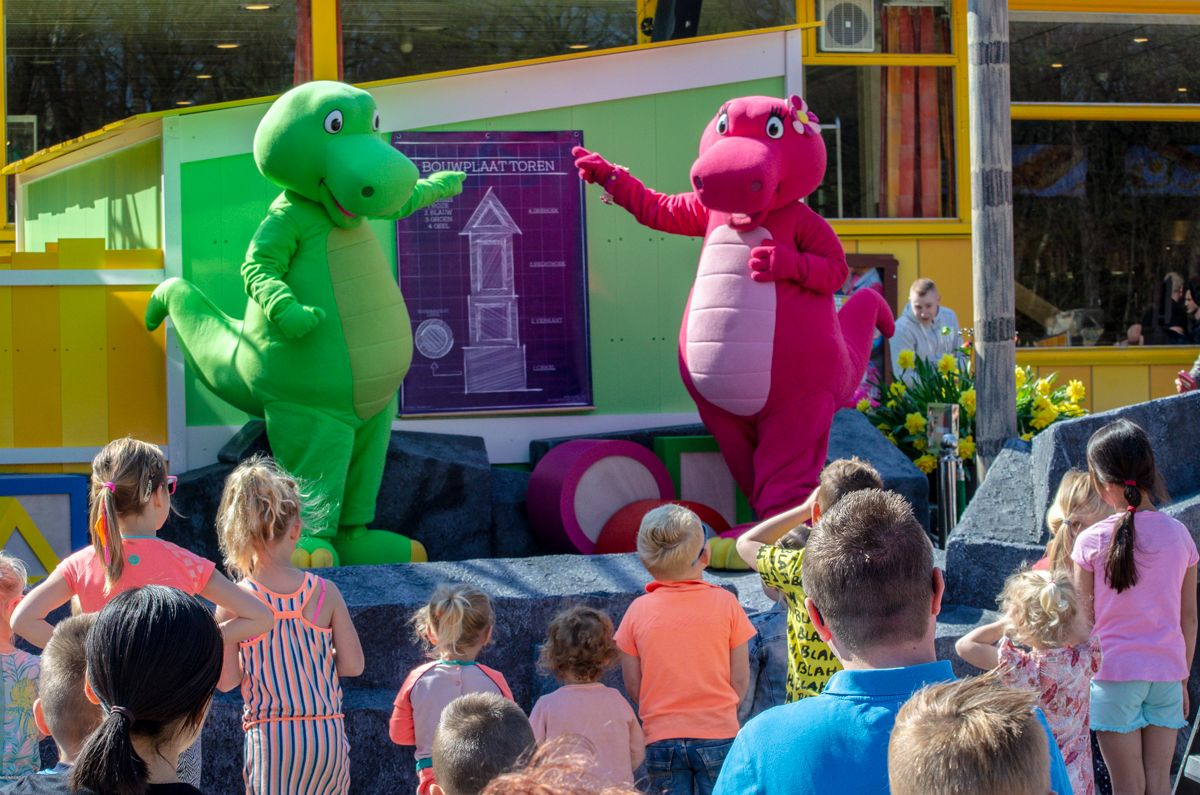 Dino & Dina Bouwspel Kinderpretpark Julianatoren 2