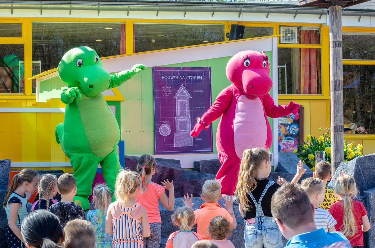 Dino & Dina Bouwspel Kinderpretpark Julianatoren