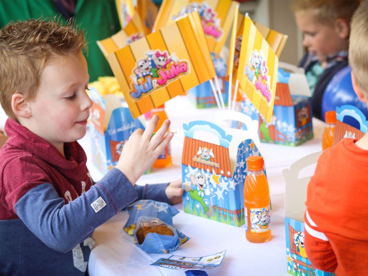 Kinderfeestje Julianatoren